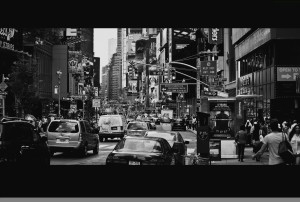Manhattan Rush Hour, 2011, Alex Proimos.