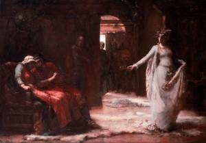 Ophelia, Henrietta Rae, oil on cavnas,1890, Walker Art Gallery.