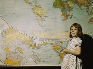 Golden Rule Girl, 1943, John Vachon.