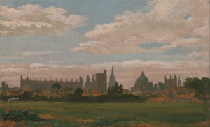 View of Oxford,19C, William Turner of Oxford.
