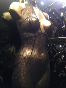 Shopping at Agent Provocateur.