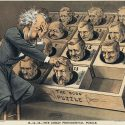 The Great Presidential Puzzle, Republican Candidates,1880, illus James Albert Wales, Library of Congress.