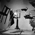 Dali, Photo Philippe Halsman, 1948.