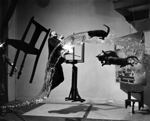 Dali, Photo Philippe Halsman, 1948.