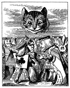 Alice's Adventures in Wonderland, Lewis Carroll, 1869.